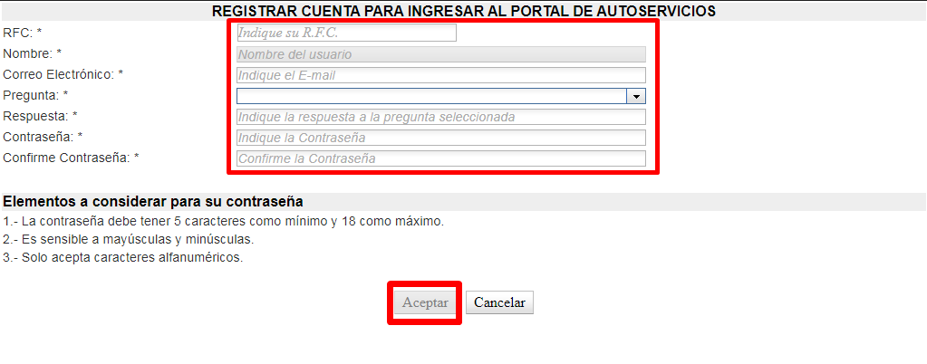 Tutorial autoservicios SEMS SEP