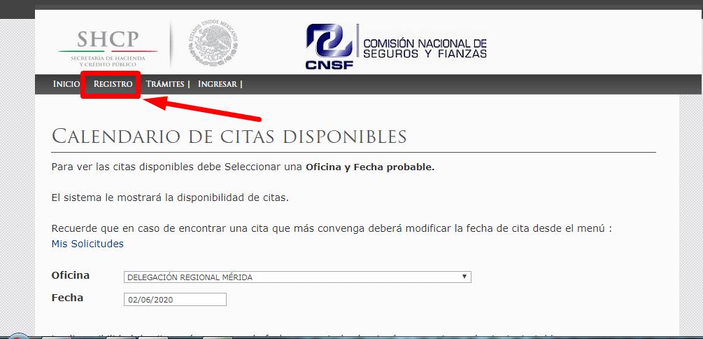 Trámites CNFS