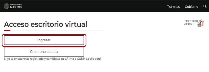 Acceso escritorio virtual