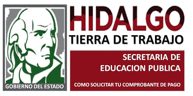 COMPROBANTE DE PAGO SEPH-Secretaría de Educación Pública de Hidalgo