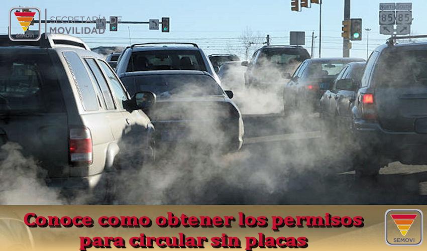 Como obtener los permisos para circular sin placas