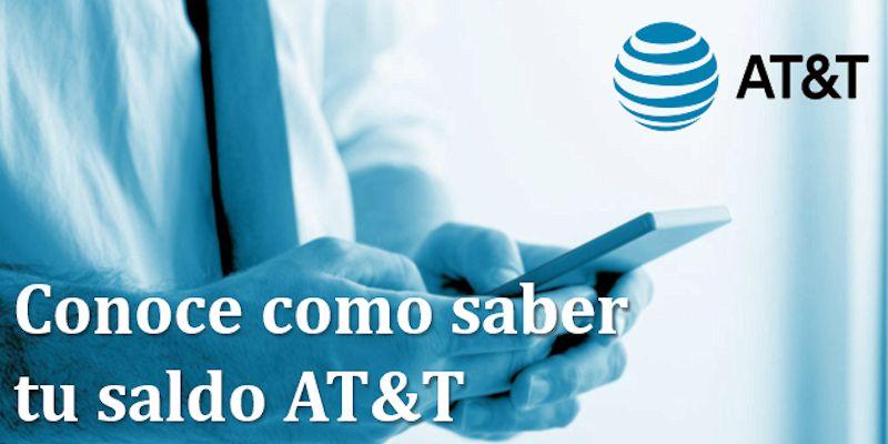 Conoce tu saldo AT&T