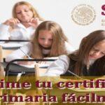 Cómo obtener e imprimir tu certificado de Primaria online fácilmente