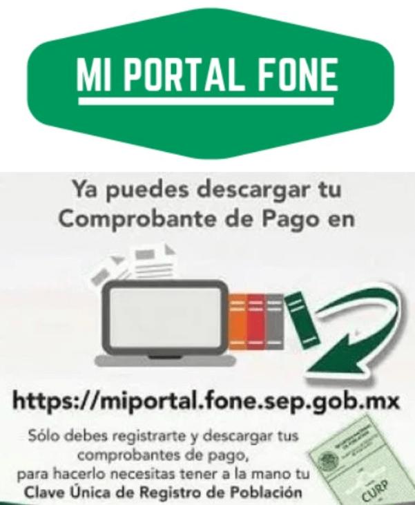 Portal fone logo - descargar comprobante de pago