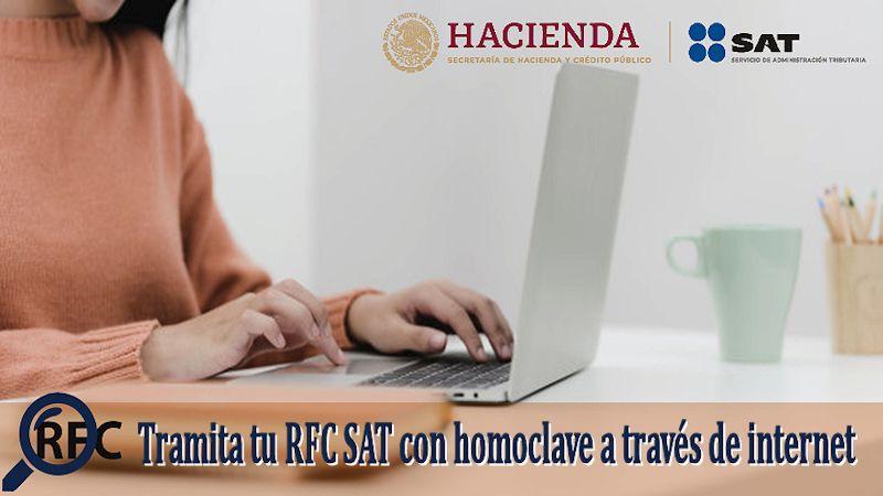RFC del SAT con homoclave