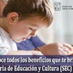 Conoce todos los beneficios que te ofrece la Secretaría de Educación y Cultura (SEC) de Sonora