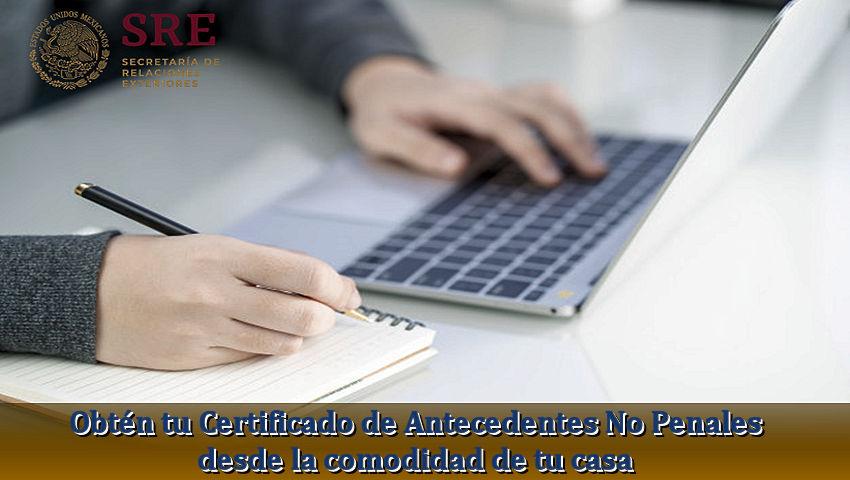 Certificado de Antecedentes No Penales