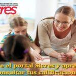 Cómo acceder al portal Sicres y consultar tus calificaciones
